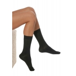 DermaSilk Comfort Short Socks black
